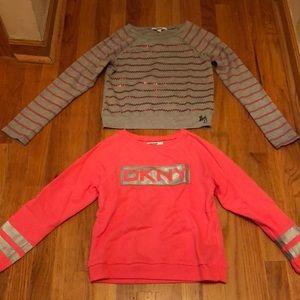 DKNY little girl's size medium (8/10) shirts